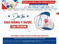 Caodangyduochcm.edu.vn - Cao đẳng Dược TPHCM | Cao Đẳng Y Dược HCM Xét học bạ THPT 2018