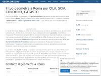 Geometra Roma Studio Cireddu & Galotto Tel.06 520 29 59