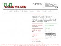 FLAT - Fiera Libro Arte Torino | FLAT