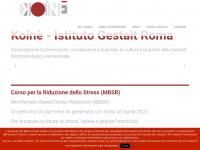 koinè gestalt roma – Associazione di promozione, condivisione e scambio di culture e pratiche della Gestalt fenomenologico esistenziale.