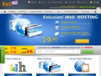 keliweb.it server domini cloud dedicati dominio
