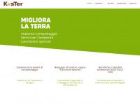 Home - Koster-srl | Impianto compostaggio Lavorazioni agricole Movimento terra