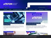 Fim.net - FIM, le site de la Fédération des Industries Mécaniques | Accueil