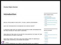 doctorandcruise.com