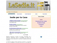 Lesedie.it - LE SEDIE .IT - Sedie per la Casa
