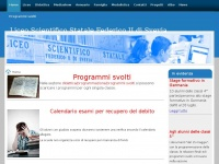 Liceo Scientifico - Home