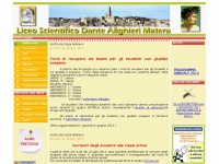 "Liceo Scientifico ""Dante Alighieri"" - Matera - Home page"