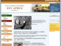 liceoxxvaprile.it liceo scientifico