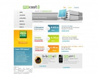 Mecast.it - servizi streaming hosting shoutcast, flash media server, wowza server, iphone application