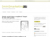 minimarketing.it post blog blogger