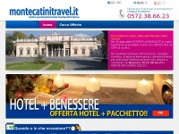 Hotel Montecatini Terme e Alberghi Montecatini Terme, per le tue vacanze