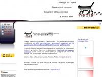 Benvenuto!  - Design Siti WEB Firenze Pistoia Prato Lucca Pisa Toscana - NEBIS  Nero e Bianco Software
