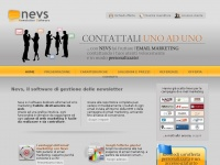 nevs.it email newsletter invio software piattaforma