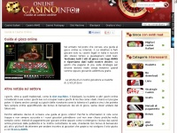 Onlinecasinoinfo.it - Casinò online in italiano: Guida completa
