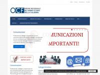 Sito ufficiale dell'Ordine dei Chimici della Calabria---------------------------------------------------------------------------