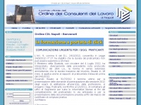 Ordine dei Consulenti del Lavoro di Napoli - Portale Ufficiale