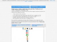 Palinsesto tv , guida ai programmi tv digitale terrestre dtt di Rai Mediaset La7