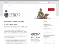Petico.it - Petico | Cremazione animali domestici
