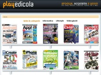 playedicola.it riviste edicola android ipad iphone tablet digitali