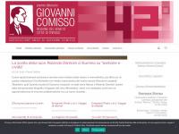 Benvenuto su www.premiocomisso.it | www.premiocomisso.it