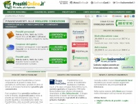 Prestiti on line. Finanziamenti a confronto - PrestitiOnline.it