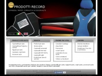Prodottirecord.it - Fodere Coprisedili auto e tappeti da Prodotti Record. Car seat covers, car carpets interior design
