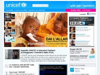 unicef.it privacy loading progetti