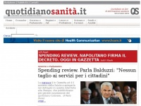 quotidianosanita.it cesare sanitaria sanita