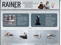 Rainer Technology - Centri punzonatura - Punch press center - Home