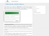 Codice Fiscale, Calcolo e Ricerca