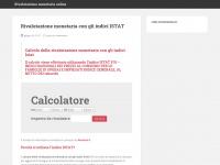 rivalutazionemonetaria.it interessi istat rivalutazione monetaria calcolo indici inflazione rivaluta indice