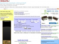 Rivaluta.it - Rivalutazione monetaria con indici Istat e calcolo interessi legali