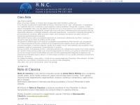 RNC web - Torino e provincia FM 107.400 MHz - Cuneo e provincia FM 107.300 MHz