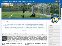 Sanpaolosassari.it - Homepage | Gruppo Sportivo San Paolo Sassari