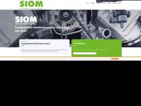 Siom.it - SIOM s.r.l. - Motorini elettrici, Indotti, Rotori, Statori, Alternatori