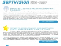 Softvision.it - Software per Euro Jackpot, Scommesse Sportive, Super Enalotto, Lotto, Totocalcio, Fidelity Card, Internet Point, Hotspot WI-FI