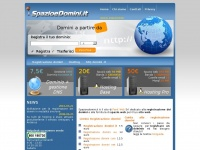 spazioedomini.it domini registrazione dominio registrare registra
