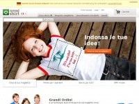 spreadshirt.it mail panoramica registrati protezione tuoi