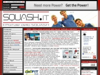 SQUASH.it - Il Portale dello Squash - Homepage