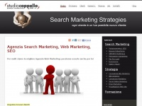 studiocappello.it search marketing performance motori ricerca keyword posizionamento