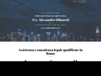 Studio Legale in Roma, Avvocato Alessandro Milanetti Avvocato Paola Massimiani