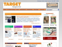 Target Magazine: Home page