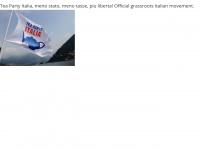 Teapartyitalia.it - Tea Party ITALIA - Meno Tasse, Più Libertà - Sito Ufficiale