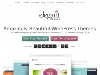 elegantthemes.com themes wordpress premium support