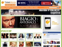 ticketworld.it teatro biglietteria arena concerti opera