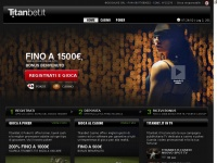 titanbet.it poker casino tornei registrati