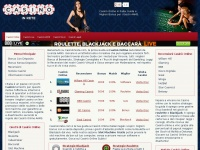 casinoinrete.com casino gioco blackjack slot roulette machine baccarat casi