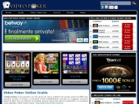 Videopoker.it - Video Poker Online Gratis - Gioca e vinci ai migliori Video Poker
