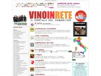 vinoinrete.it vino wine bere