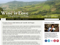 Wine is love | Il blog di Francesco Zonin